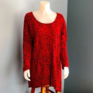 Gorgeous 🌹Cut.Loose 🌹Long Sleeves Tunic